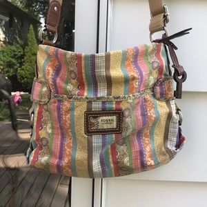 [Fossil] Vintage Colorful Crossbody Bag